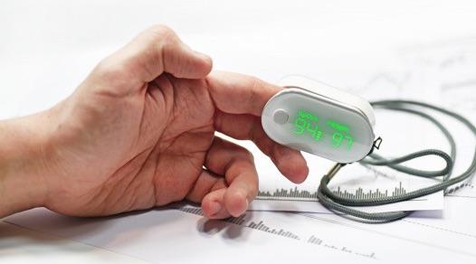 oxymetre de doigt